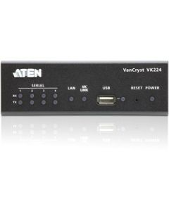 """Aten VanCryst 4-Port Serial Expansion Box-TAA Compliant - 3"""" Width x 1.7"""" Height x 5.1"""" Length - 1 - Metal FOR VK2100"""