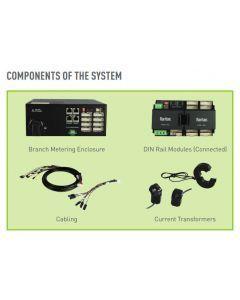 """Raritan BCM2-250A-CT-3PK(3x 250A current transformer/0.5%/333mV/24""""/610mm lead)"""