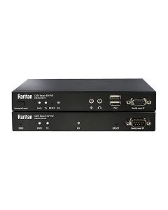 Raritan Cat5/Cat6e KVM receiver, support USB keyboard, mouse, USB peripherals, DVI-D, audio, serial and EDID emulation