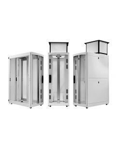 "Chatsworth F-Series TeraFrame Gen 3 Cabinet System, 42 RMU, 79.4 in. (2016mm) H x 23.6"" (600mm) W x 47.20"" (1200mm)"