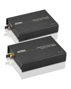 ATEN HDMI Optical Extender-TAA Compliant - 1 Input Device - 1 Output Device - 1968.50 ft Range