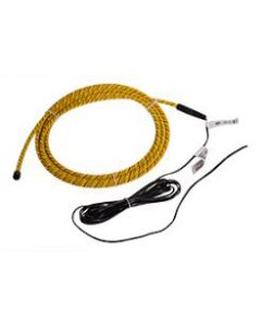 Raritan Rope water sensor with fixed 11ft cable, detects presence of water and also reports the first position on the cable