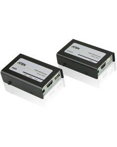 ATEN HDMI USB Extender - 1 Input Device - 1 Output Device - 131.23 ft Range
