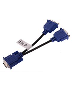 Raritan VGA video splitter cable - enables dual connection of target device's VGA port