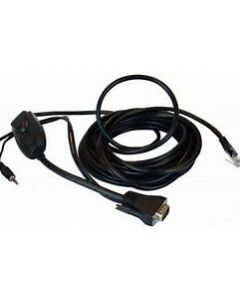 Raritan Integrated KVM Cable for VGA, USB and Audio, 6 meters (18 ft)
