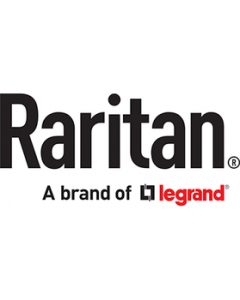 """Raritan Integrated LX II KVM-over-IP switch and 17"""" LCD Console drawer.  LX II  KVM-over-IP switch with 8 ports and 1 remote"""