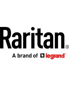 Raritan Monitored and switched rack power distribution unit (2U [horizontal], 34.5kVA, 18 outlets).