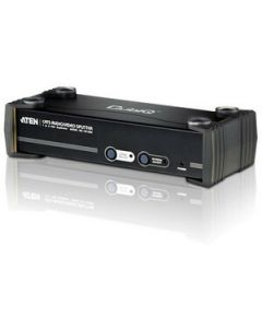 ATEN 8-Port VGA/Audio Cat5e/6 Splitter with RS-232-TAA Compliant - 1920 x 1200 - WUXGA - 1 x 81 x VGA Out