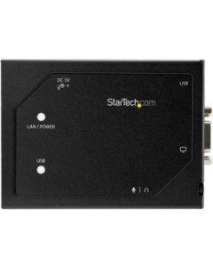 StarTech VGA-Over-IP Extender with 2-port USB Hub - Video-Over-LAN Extender - 1920 x 1200