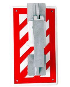 ALL-VAC WB-RedStripe-CL Wall Bracket 13-7/8 in height x 8-1/8 in width